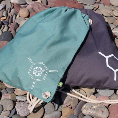 The Molecule DB - 100% Organic Cotton Canvas Drawcord Bags