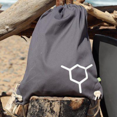 The Molecule Grey 100% Organic Cotton Canvas Drawcord