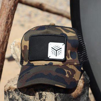 The One BP Camo Patch Snapback